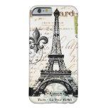 Caso francés del iPhone 6 de la torre Eiffel del Funda Para iPhone 6 Barely There