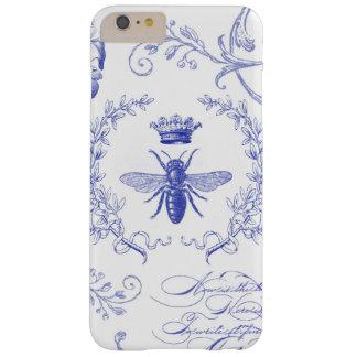 caso francés del iphone de la abeja reina del funda para iPhone 6 plus barely there
