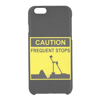 Caso frecuente del iPhone 5/6/6s de las paradas Funda Clearly™ Deflector Para iPhone 6 De Uncommon