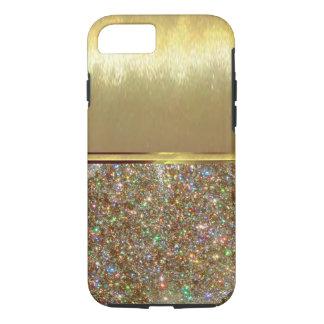 Caso fresco del diseño del oro de Shell del iPhone Funda iPhone 7