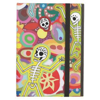 Caso fresco del iPad de los esqueletos del baile