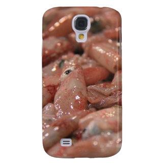 Caso fresco del iPhone 3 del calamar Funda Para Galaxy S4
