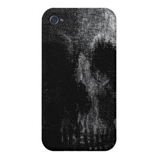Caso fresco del iPhone 4 del cráneo iPhone 4/4S Funda