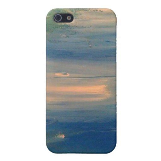 Caso fresco del iphone del extracto del arte del o iPhone 5 carcasas