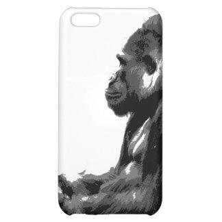 caso fresco del iphone del gorila