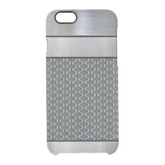 Caso fresco del iPhone del modelo de la plata 3D Funda Clear Para iPhone 6/6S