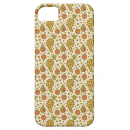 Caso frío del iPhone 5 de la fruta del otoño iPhone 5 Coberturas