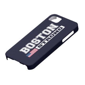 Caso FUERTE del iPhone 5 de la bandera de BOSTON iPhone 5 Case-Mate Funda