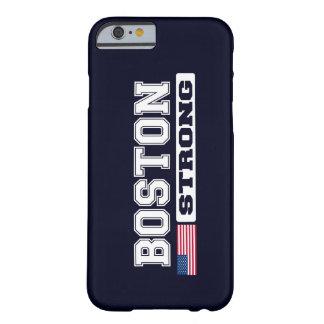 Caso FUERTE del iPhone 6 de la bandera de BOSTON Funda Para iPhone 6 Barely There