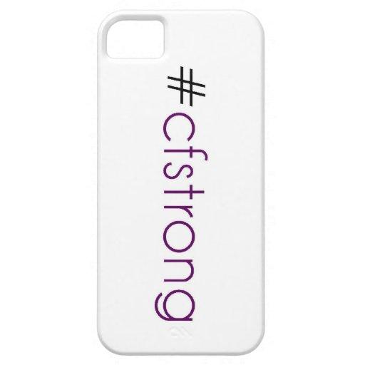 Caso FUERTE del iPHONE de los CF iPhone 5 Case-Mate Funda