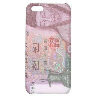 Caso ganado del iPhone de la moneda 1000 surcorean