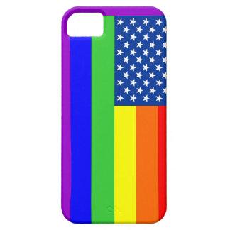 Caso gay del iPhone 5 de la bandera iPhone 5 Funda
