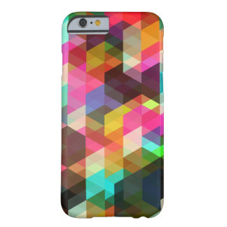 Caso geométrico abstracto del iPhone 6 Funda Para iPhone 6 Barely There
