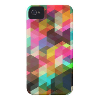 Caso geométrico abstracto del iPhone Case-Mate iPhone 4 Cobertura