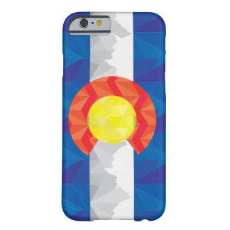 Caso geométrico de IPhone de la bandera de Funda Barely There iPhone 6