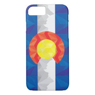Caso geométrico de IPhone de la bandera de Funda iPhone 7