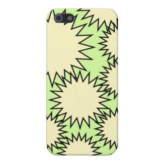 Caso geométrico de IPhone iPhone 5 Fundas
