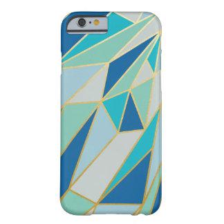 Caso geométrico de Seaglass Funda De iPhone 6 Barely There