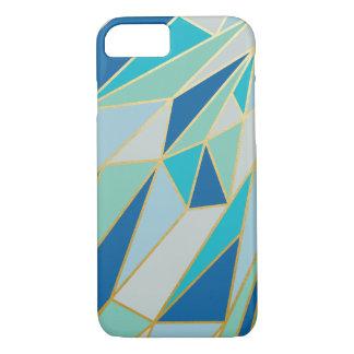 Caso geométrico de Seaglass Funda iPhone 7