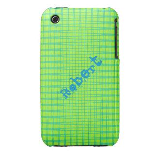 Caso geométrico del iPhone 3 del modelo iPhone 3 Case-Mate Cárcasa