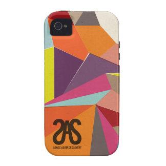 Caso geométrico del iPhone 4 del SAS iPhone 4 Carcasa