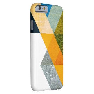 Caso geométrico del iphone 6 del extracto natural funda de iPhone 6 barely there