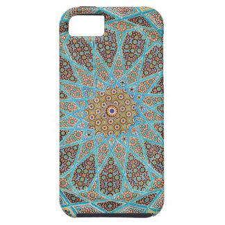 Caso geométrico del modelo del mosaico iPhone 5 funda
