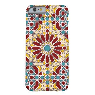 Caso geométrico islámico del iPhone 6 del modelo Funda De iPhone 6 Barely There