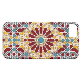 Caso geométrico islámico del iphone del modelo iPhone 5 funda
