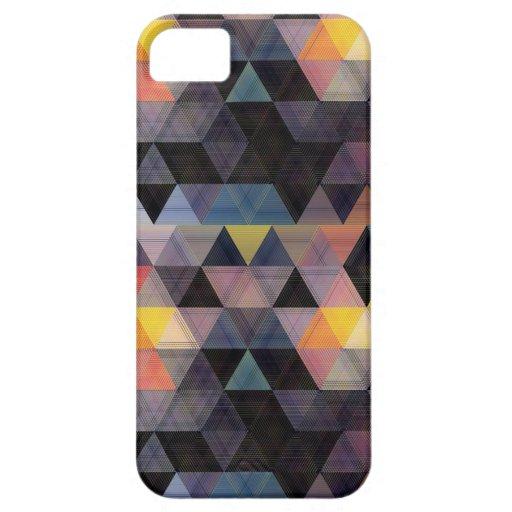 Caso geométrico moderno del iPhone 5 del modelo iPhone 5 Case-Mate Protector