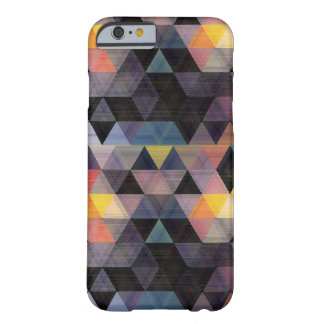 Caso geométrico moderno del iPhone 6 del modelo Funda Barely There iPhone 6