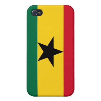 Caso ghanés del iPhone 4 de la bandera iPhone 4/4S Carcasa