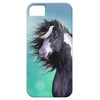 Caso gitano de Iphone 5 de la cabeza de caballo de iPhone 5 Case-Mate Funda