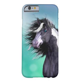 Caso gitano del iPhone 6 de la cabeza de caballo Funda Para iPhone 6 Barely There
