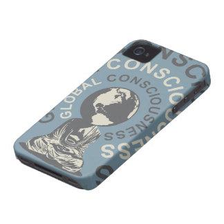 Caso global del iPhone 4 de la conciencia iPhone 4 Case-Mate Cárcasas