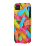 Caso gomoso de Iphone de la impresión de la fotogr Case-Mate iPhone 4 Carcasa