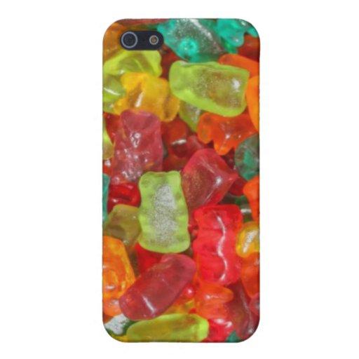 Caso gomoso del iPhone 4 de los osos iPhone 5 Cárcasa