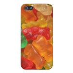 Caso gomoso del oso iPhone 5 carcasas
