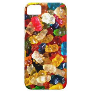 caso gomoso del protector de los osos del iPhone 5 Funda Para iPhone SE/5/5s
