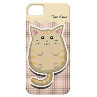 Caso gordo del iPhone 5 del gato iPhone 5 Carcasas