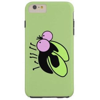 Caso gordo lindo del iPhone 6 de la mosca Funda De iPhone 6 Plus Tough