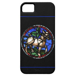 Caso gótico de Iphone del vitral de la astrología iPhone 5 Carcasas