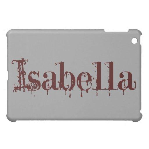 Caso (gótico) del iPad de Isabel