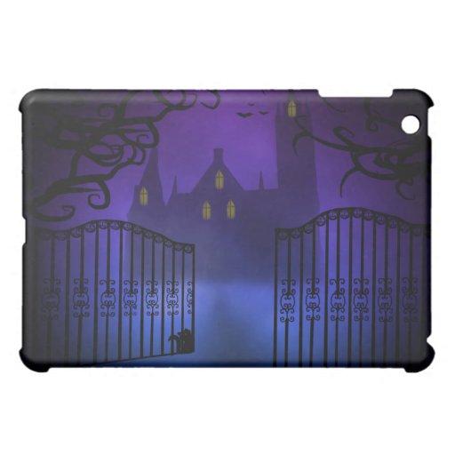 Caso gótico del iPad del castillo