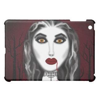 Caso gótico del ipad del chica del vampiro