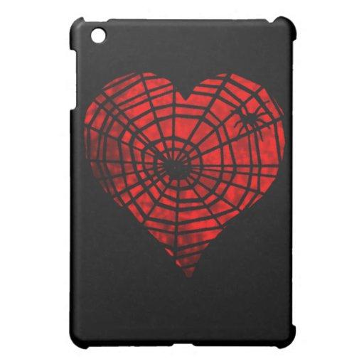Caso gótico del iPad del corazón