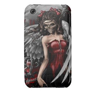 Caso gótico del iPhone 3 del ángel iPhone 3 Case-Mate Coberturas