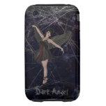 Caso gótico del iPhone 3 del ángel oscuro iPhone 3 Tough Carcasas