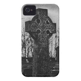 Caso gótico del iPhone 4 de la piedra sepulcral Case-Mate iPhone 4 Cárcasa