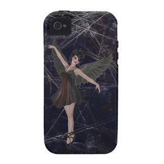 Caso gótico del iPhone 4 del ángel Case-Mate iPhone 4 Fundas
